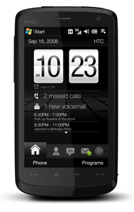 Formation smartphone Windows Mobile HTC